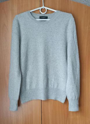 Серый кашемировый свитер, качество👍