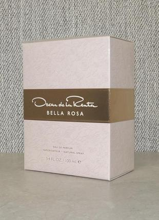 Oscar de la renta bella rosa 100 мл для женщин оригинал