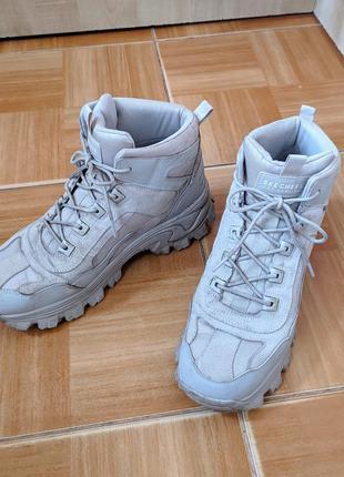 Ботинки skechers кроссовки унисекс чоботи черевики демисезон
