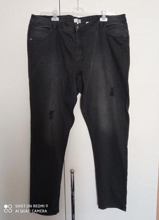 Джинсовьіе брюки большой размер