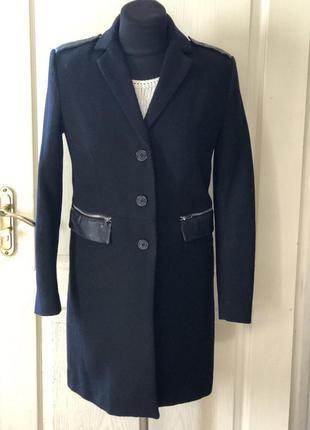 Женское шерстяное пальто mango