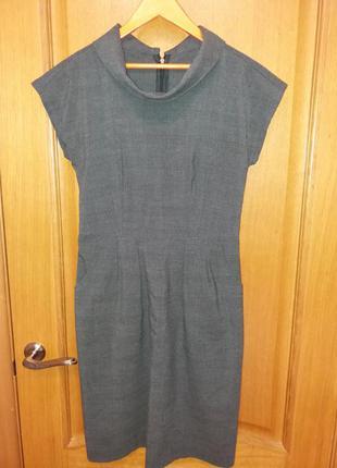 Офисное платье под джемпер или водолазку