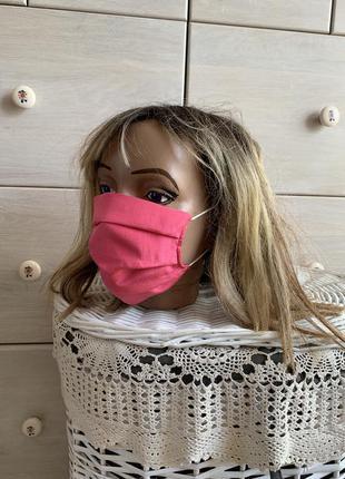 Шелковая маска для лица шелк 100% натуральный