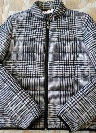 Куртка в клетку