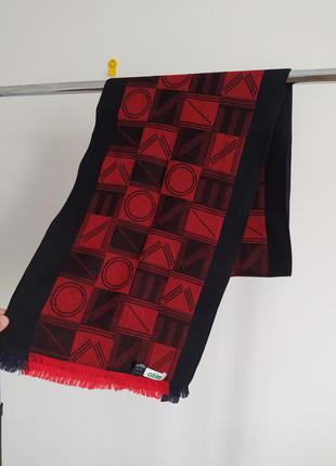 Шерстяной шарф kenzo paris