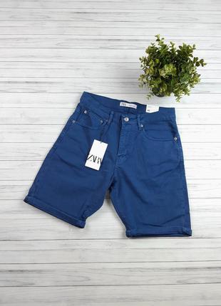 Шорты мужские джинсовые zara