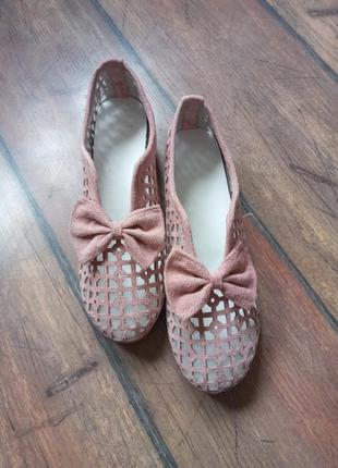 Туфли мокасины макасины балетки туфлі кроссовки кросівки босоножки 24.5