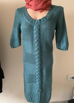 Вязаное платье ishi