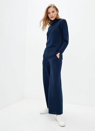 Классические женские винтажные широкие брюки , расклешенные брюки