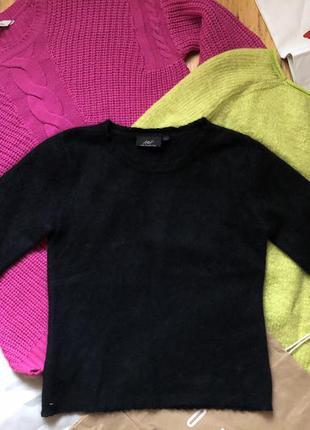 Теплая кофта свитер шерсть ангора