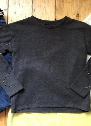 Тёплая кофта свитер