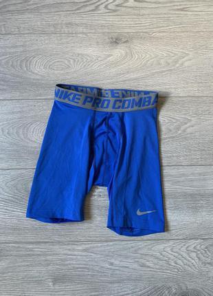 Nike pro combat мужские спортивные компрессионные шорты, р. м оригинал