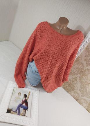 👚новый очень красивый вязанный свитер