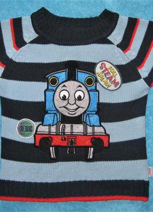 Вязанный свитер thomas 2-3 года