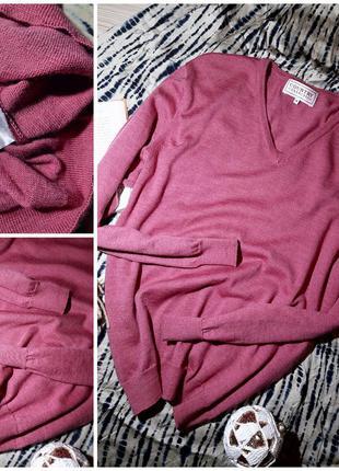 Пуловер 100% шерсть мериноса s-m