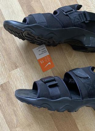 Сандали nike canyon sandal black 48 32 см