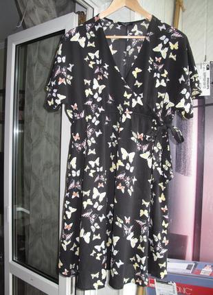 Очаровательное платье с бабочками для будущих мам