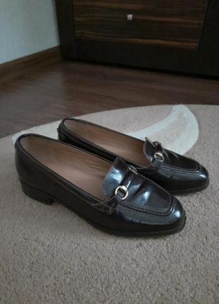Лофери туфлі р.36