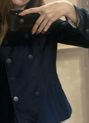 Укороченное пальто пиджак тренч плащ