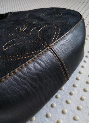 Миниатюрная сумочка-хобо из италии/уценка-33%