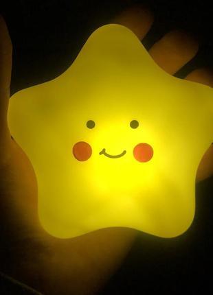 Ночник светильник для девочки для мальчика фонарик ночничок ребёнку подарок