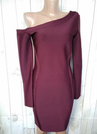 Платье футляр по фигуре утягивающее бандаж lipsy london  xs, s