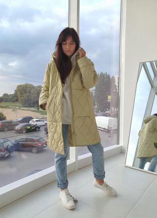 Стёганная курточка reserved m/38 размер
