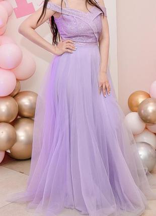 Вечернее платье, платье в пол, выпускное платье , в идеальном состоянии