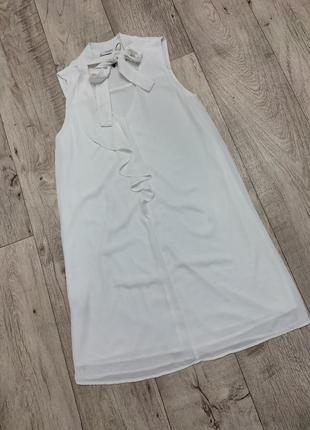 Платье белоснежное