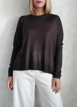 Базовый оверсайз джемпер свитер кофта h&m