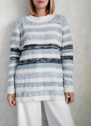 Базовый оверсайз свитер джемпер реглан