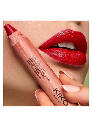 Помада - румяна lips & cheeks green me 04 kiko milano