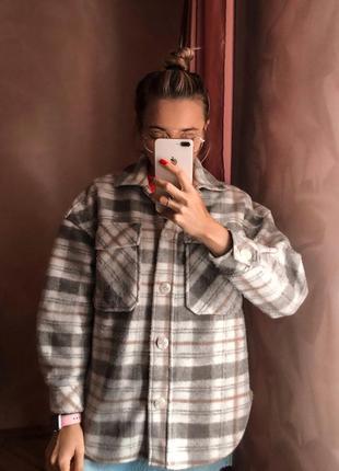 Теплюща кашемірова сорочка 🤍