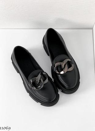 Туфли =helen= black кожа