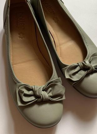 Новые кожаные туфли hotter, мега комфортные 👍