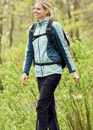 Куртка ветровка софтшелл на флисе crivit германия размер 48-50
