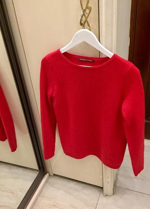 Новий. светер світшот люкс бренду comptoir des cotonniers  wool cashmere sweater fair red оригінал