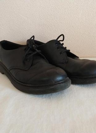 Туфли кожаные dr. martens 38р.25 см.