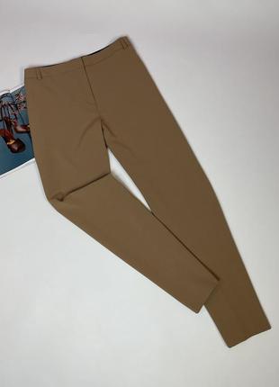 Бежевые брюки батал