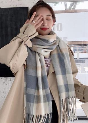 Тёплый мягкий шарфик