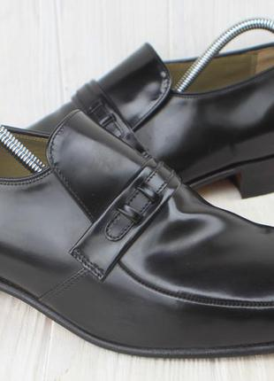 Туфли barker кожа сделаны в англии 42,5р лоферы