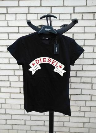 Женская футболка t-sully -at maglietta  итальянского бренда diesel оригинал италия