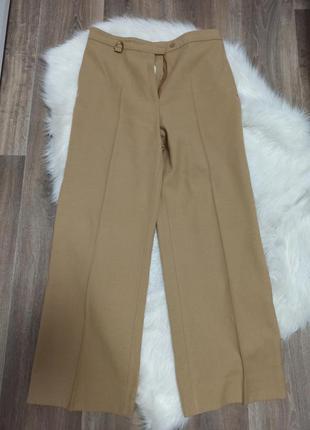 Брюки широкая штанина 60% шерсть