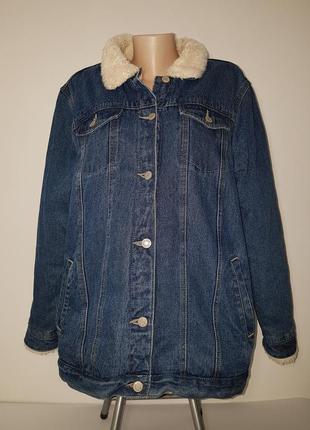 Куртка джинсовая большого розмера