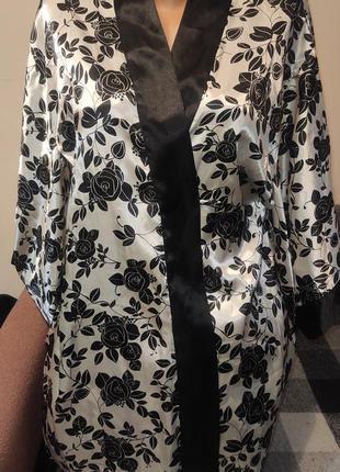 Нічна сорочка і халат 💯 поліестер