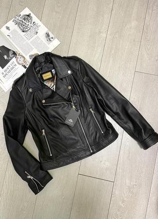 Кожаная куртка косуха, размер s-m