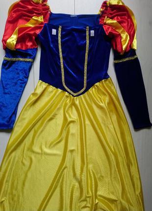 Карнавальне плаття білосніжки