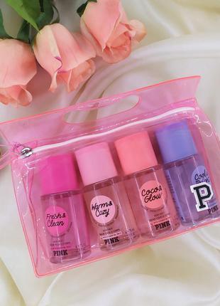 Набор самых популярных ароматов pink victoria's secret