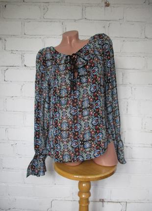 Блуза бохо вискоза/m-l