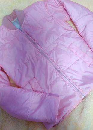 Куртка ветровка утеплённая женская